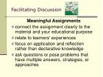 facilitating discussion37