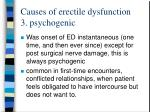 causes of erectile dysfunction 3 psychogenic