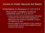 access to public records act basics10