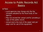access to public records act basics16