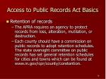 access to public records act basics18