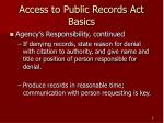 access to public records act basics8