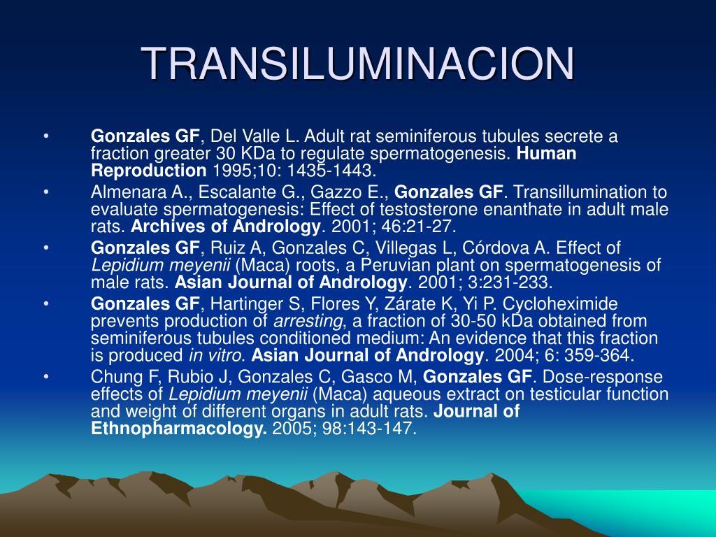 TRANSILUMINACION