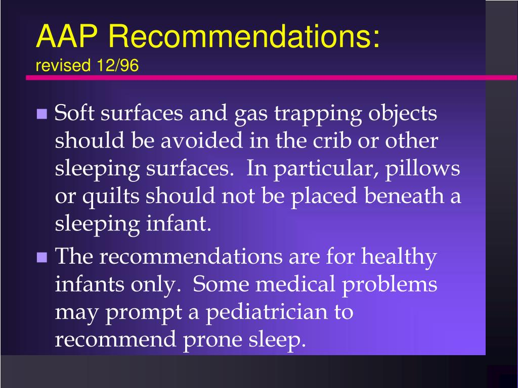 AAP Recommendations: