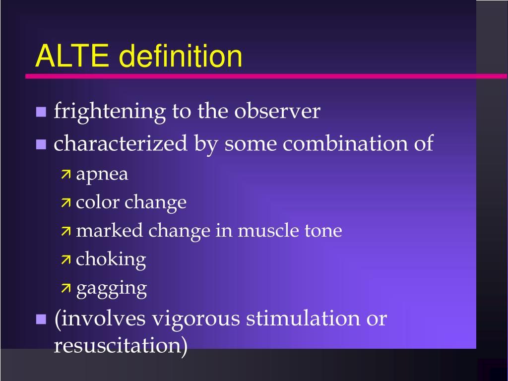 ALTE definition
