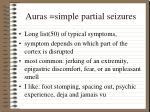 auras simple partial seizures7