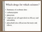 which drugs for which seizures47