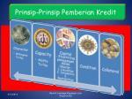 prinsip prinsip pemberian kredit