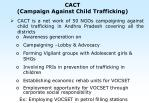 cact campaign against child trafficking