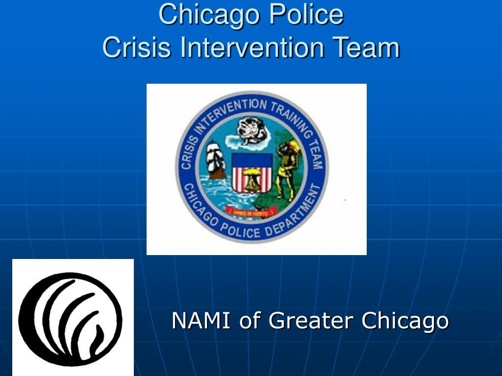 chicago police crisis intervention team l.