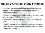 chico ca police study findings