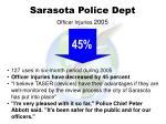 sarasota police dept