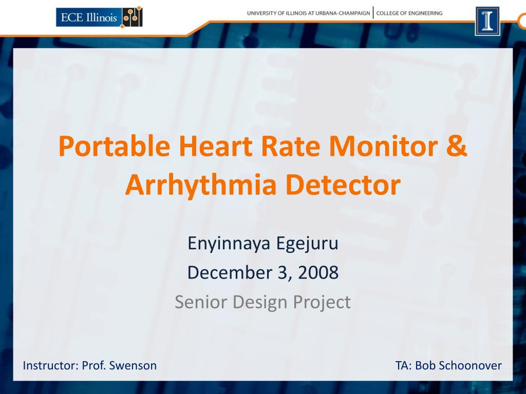 portable heart rate monitor arrhythmia detector l.