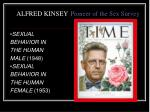 alfred kinsey pioneer of the sex survey