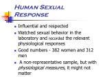 human sexual response