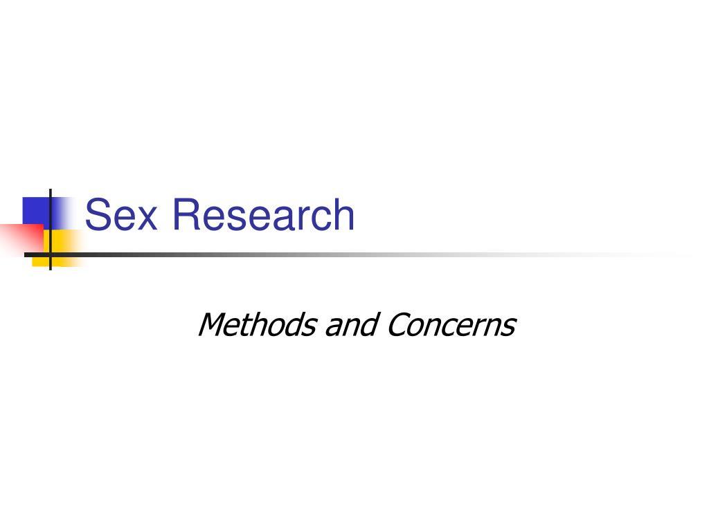 sex research l.