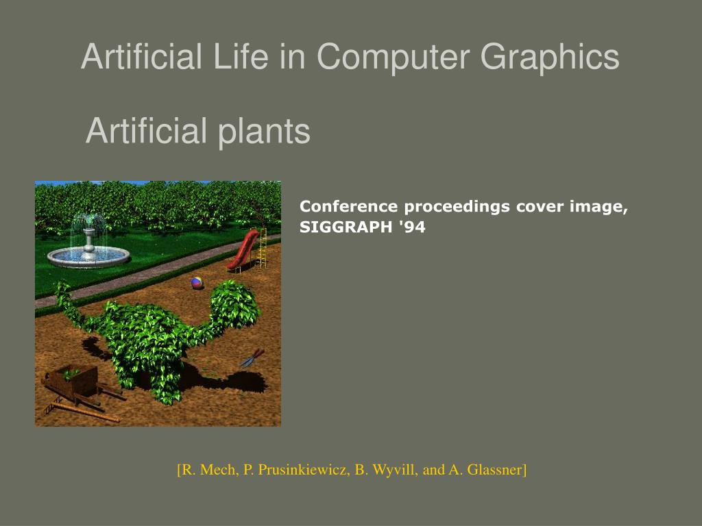 Artificial Life in Computer Graphics