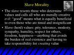 slave morality