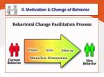 ll motivation change of behavior