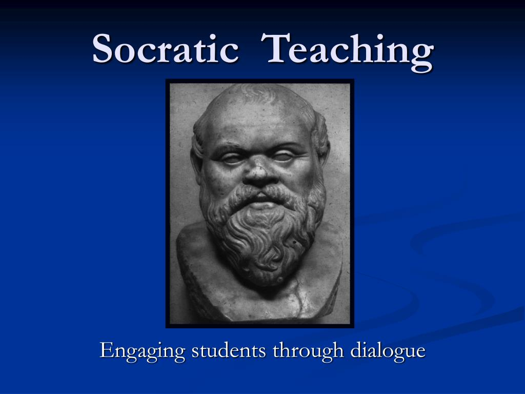 socratic teaching l.