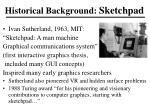 historical background sketchpad