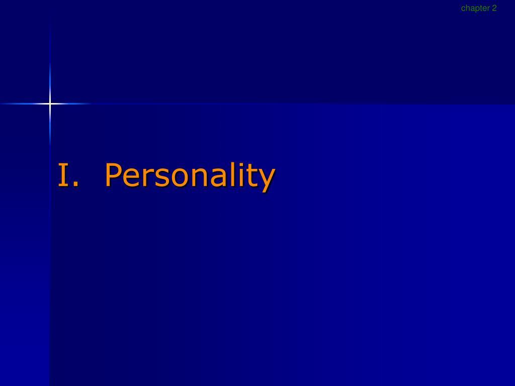 i personality l.