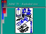 asac 70 exploded view