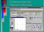 commissioning aid typical work picture
