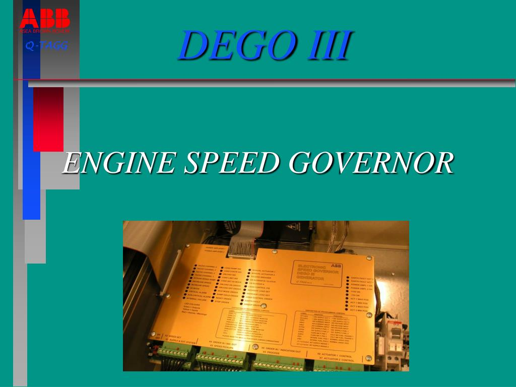 engine speed governor l.