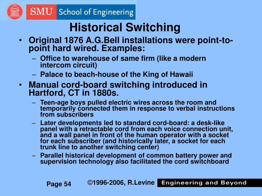 Historical Switching