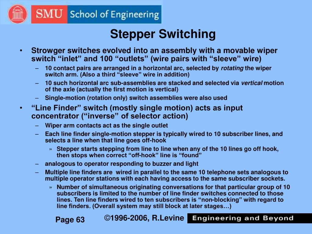 Stepper Switching