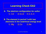 learning check ea2