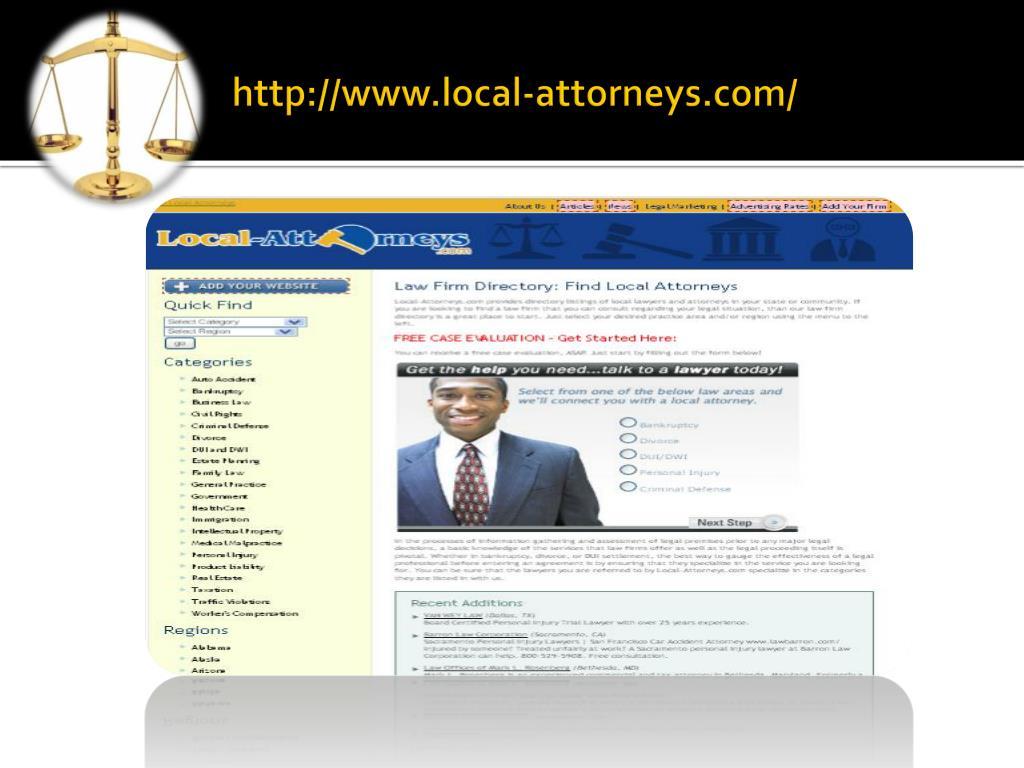 http://www.local-attorneys.com/