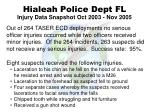 hialeah police dept fl