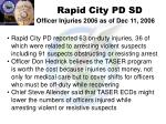 rapid city pd sd