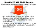 seattle pd wa field results83