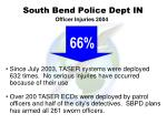 south bend police dept in