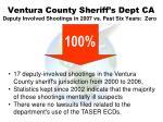 ventura county sheriff s dept ca