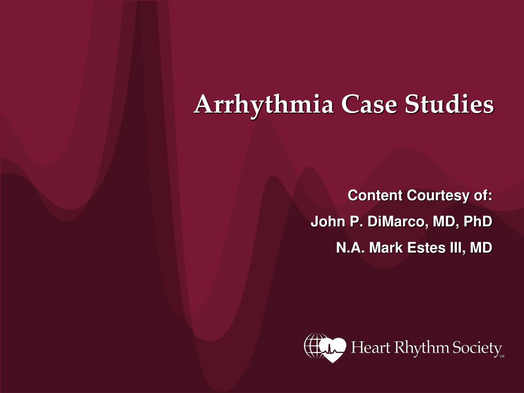 arrhythmia case studies l.