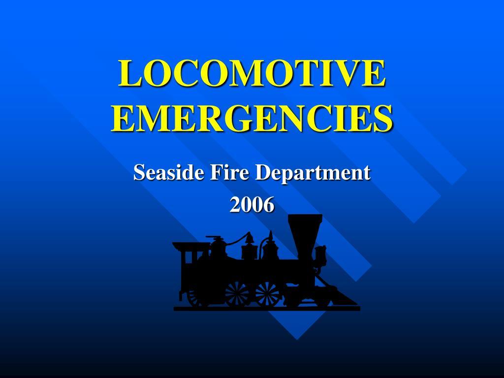 locomotive emergencies l.