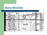 georg ukrainetz