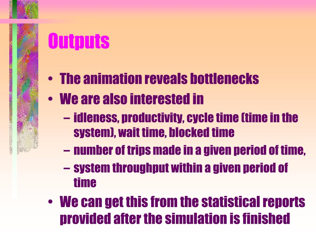 Outputs