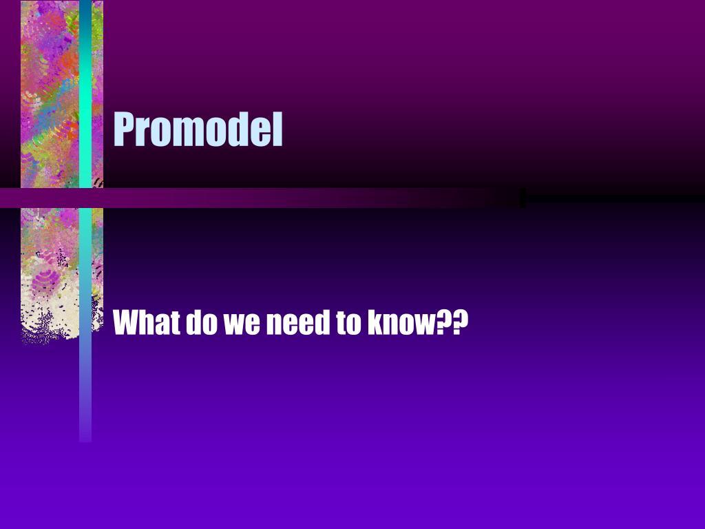 Promodel