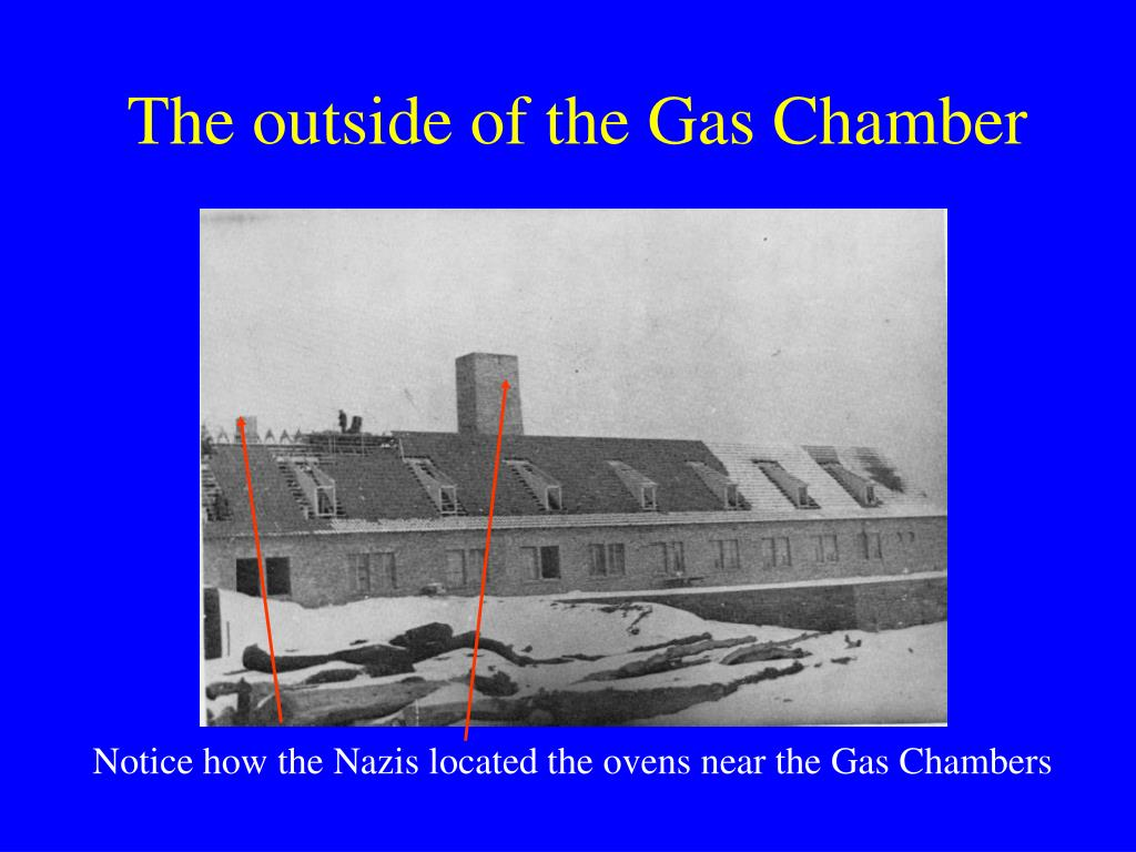 Notice how the Nazis located the ovens near the Gas Chambers