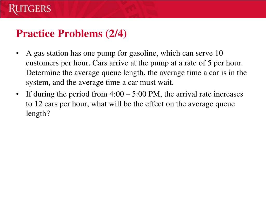 Practice Problems (2/4)