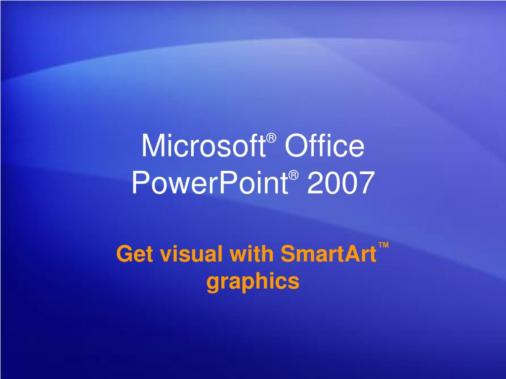 microsoft office powerpoint 2007 l.