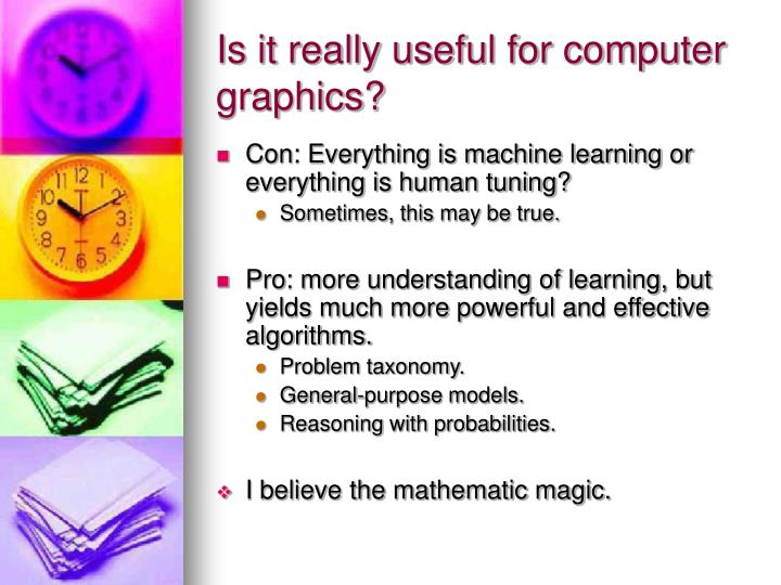 Is it really useful for computer graphics?