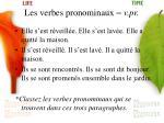 les verbes pronominaux v pr16