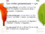 les verbes pronominaux v pr17
