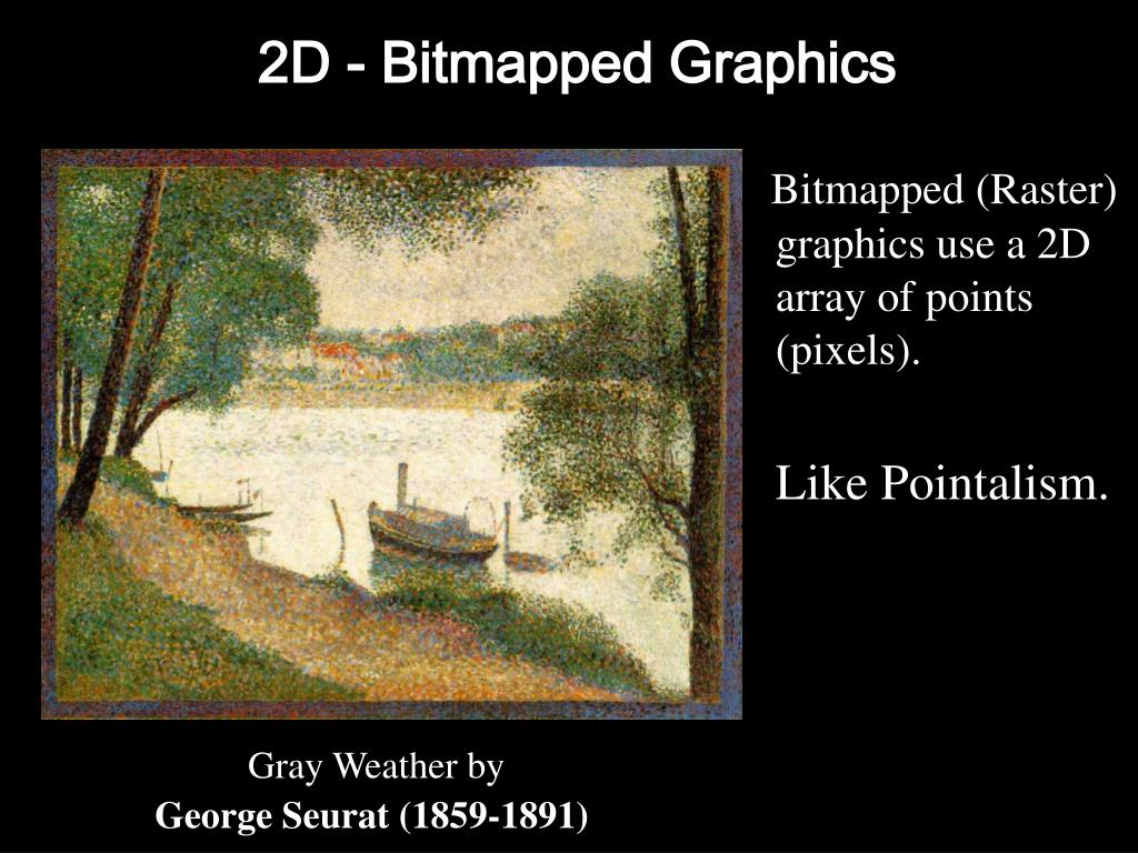 2D - Bitmapped Graphics